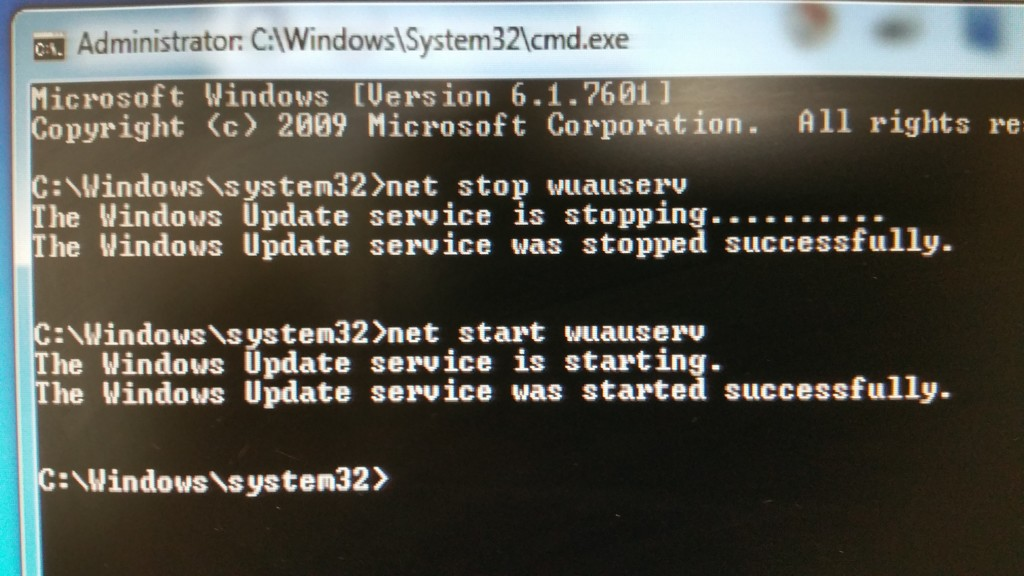 Windows Update Service Not Updating